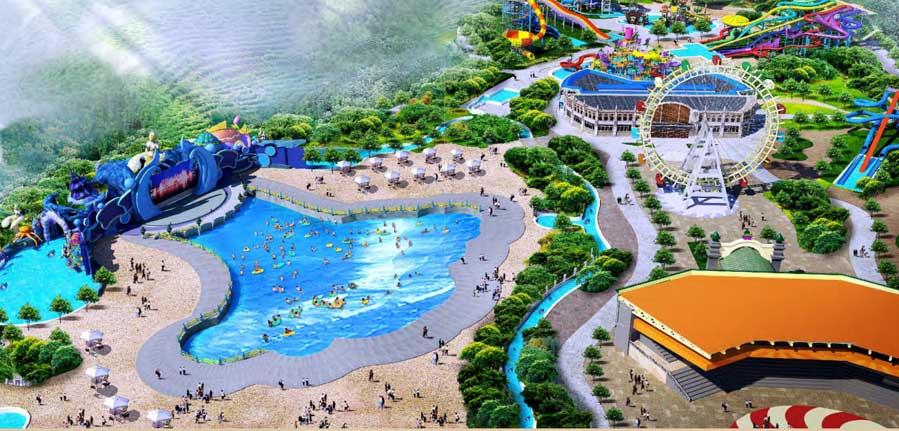 Enshi water park