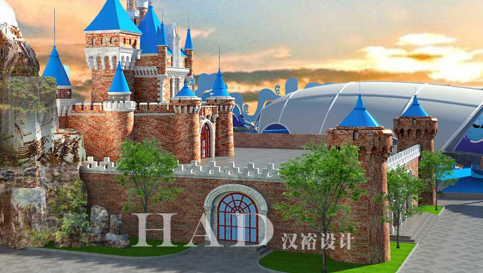 儿童乐园设计-海洋馆设计