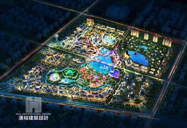 荆州海洋世界\景区规划